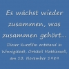 Historisches » In Mattierzoll am 12.11.1989